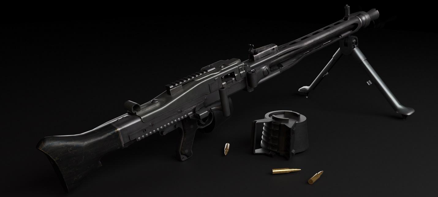 Пулемет MG3 и отвлекающая граната  детали будущего апдейта PUBG
