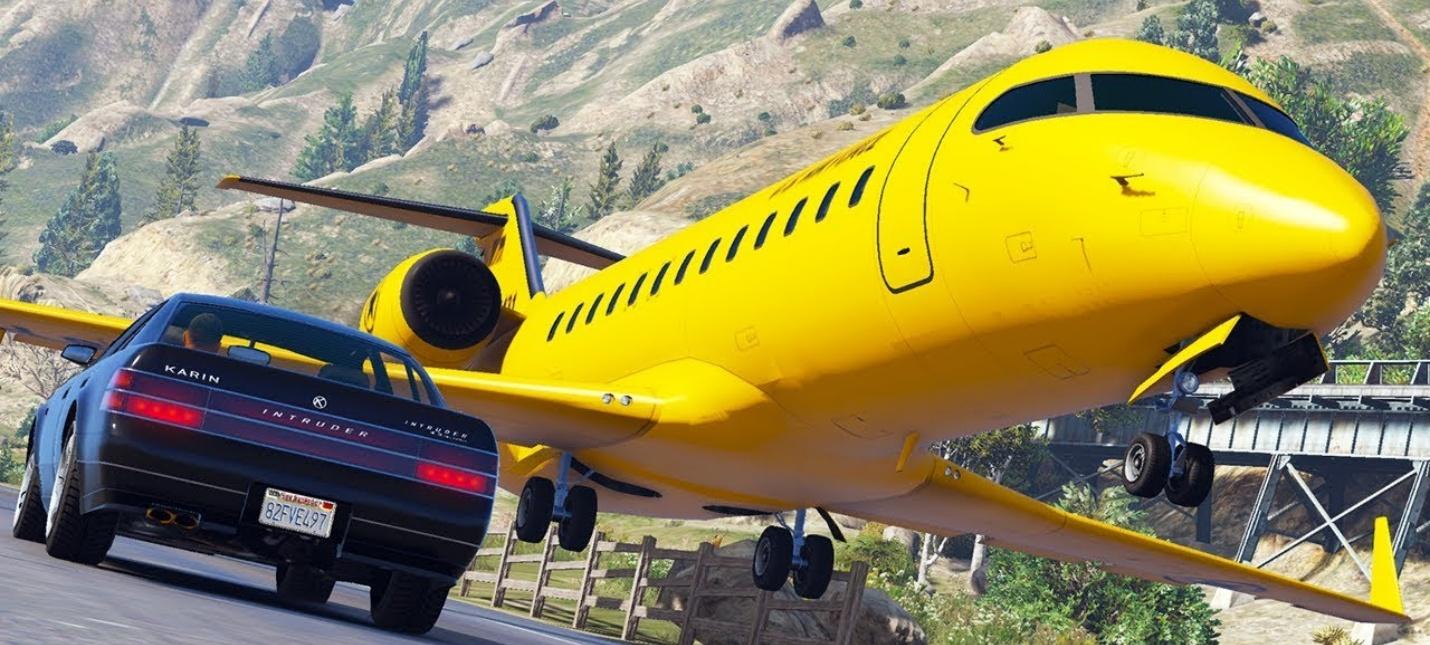 Этот мод позволяет управлять самолетами в GTA 5 с помощью Kinect