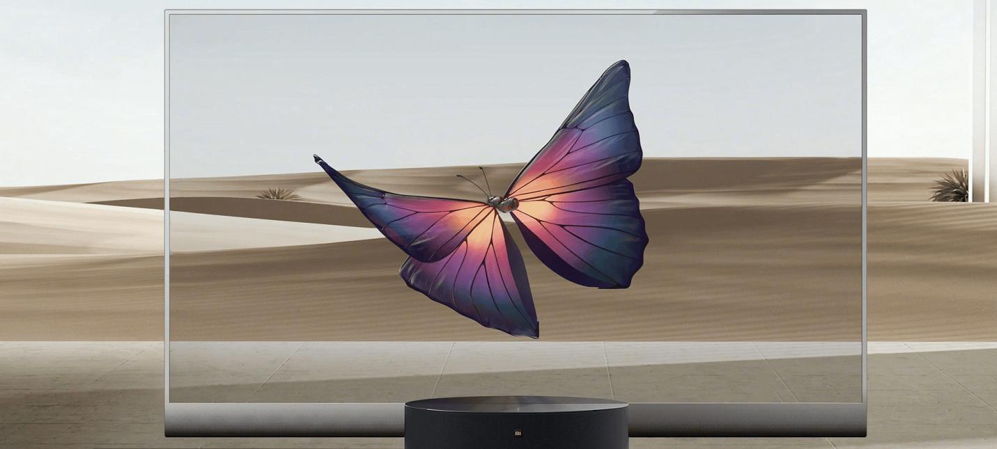 Xiaomi показала прозрачный OLED-телевизор за 500 тысяч рублей