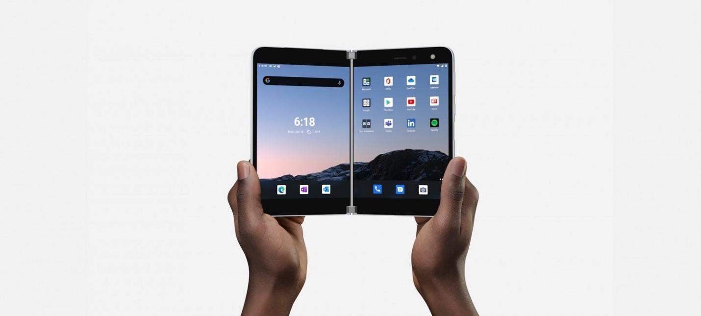 Складной смартфон Surface Duo будет стоить 1399 и поступит в продажу 10 сентября