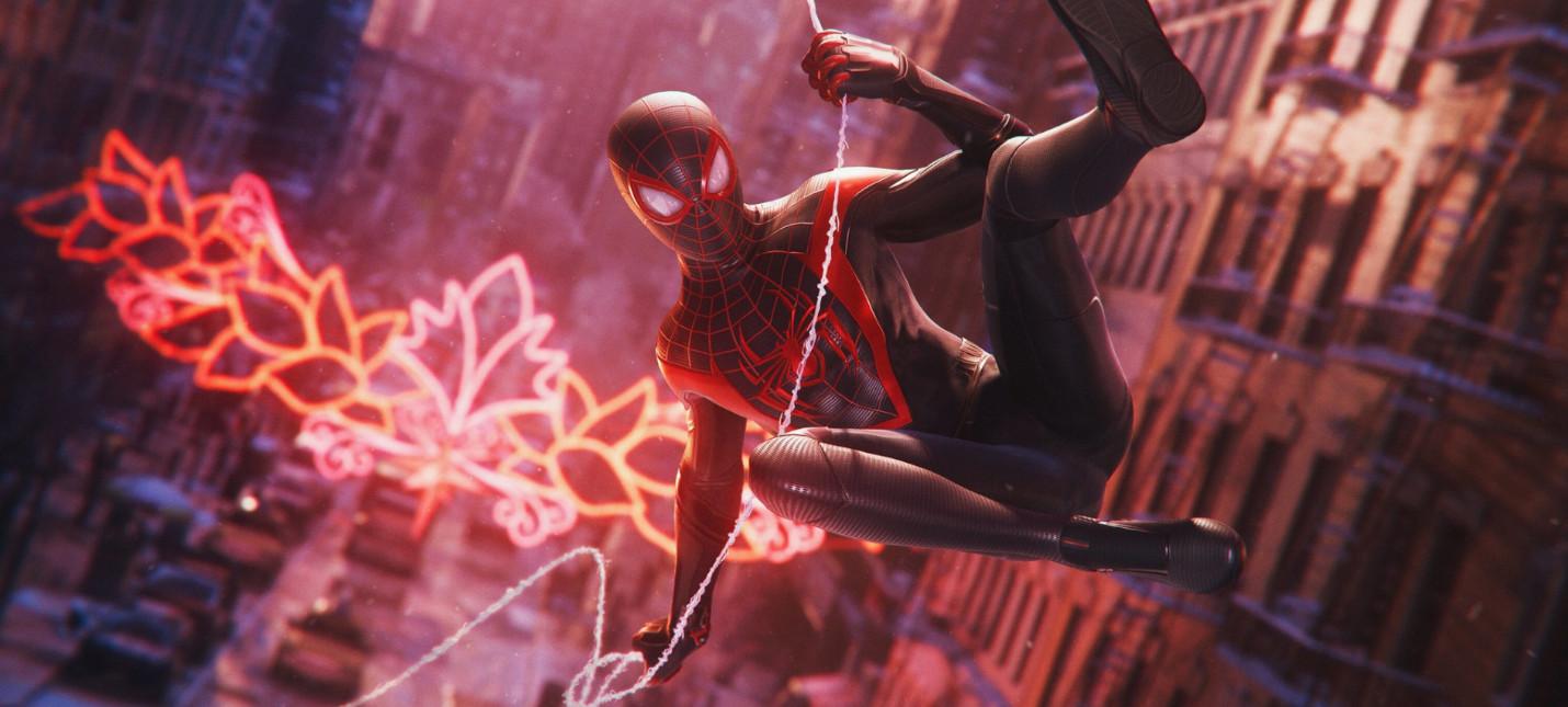 Новый скриншот и немного деталей Spider-Man Miles Morales