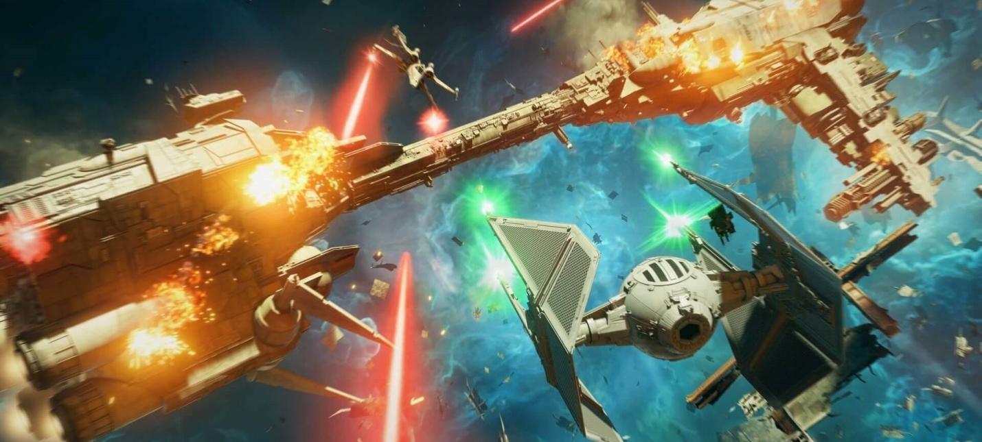 Кокпит, крейсер и сражения на новых скриншотах Star Wars Squadrons