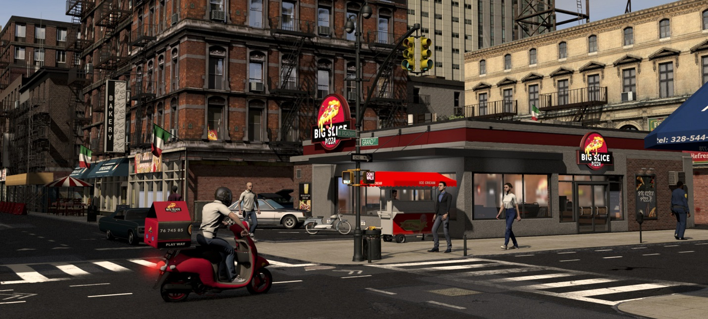 Управление пиццерией и пакости конкурентов в первом трейлере Pizza Simulator