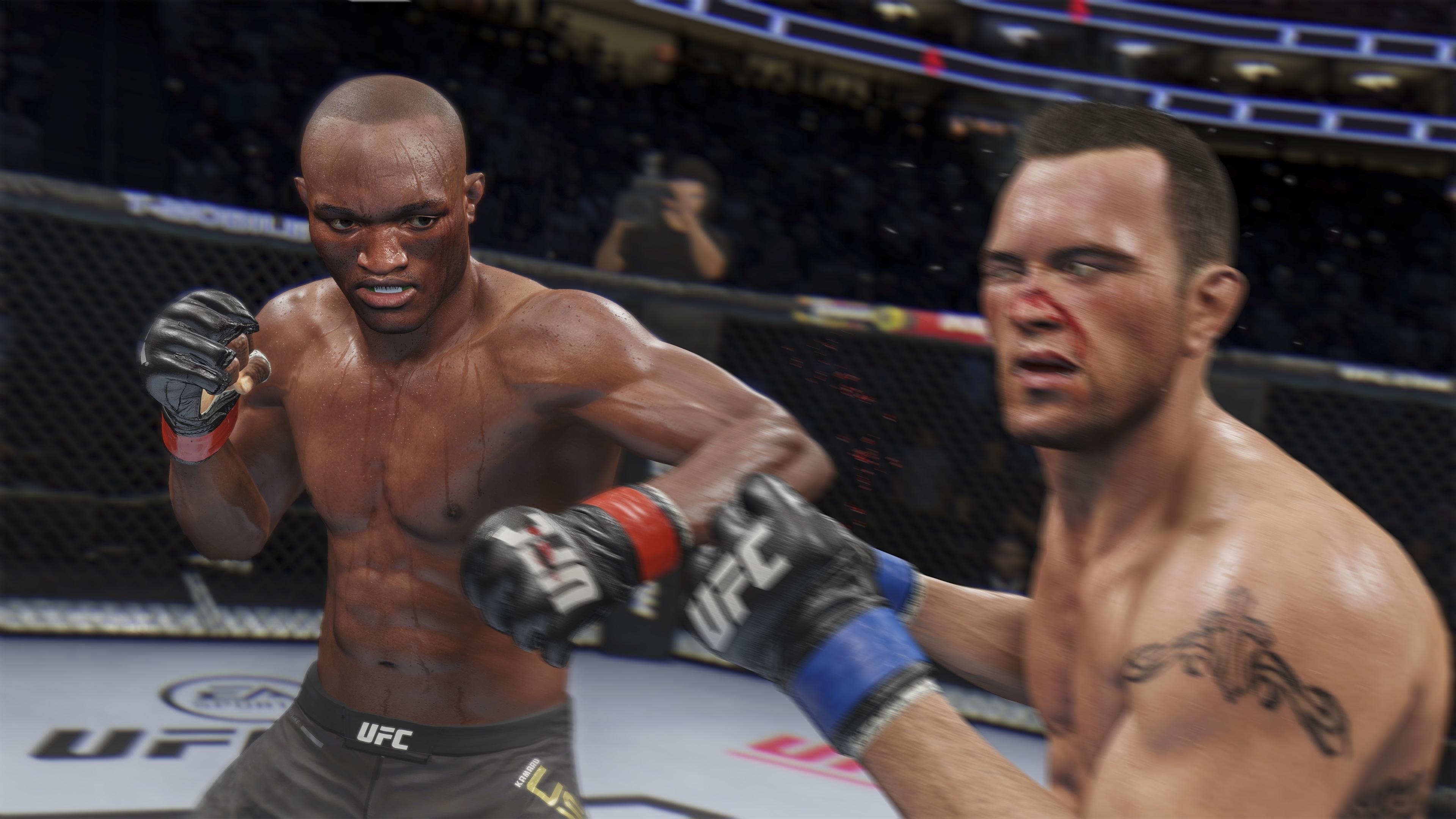 Бей первым Обзор UFC 4