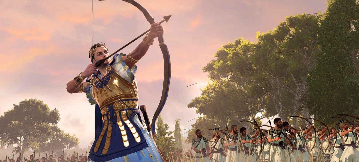 Ждите патчей  анализ производительности Total War Saga Troy