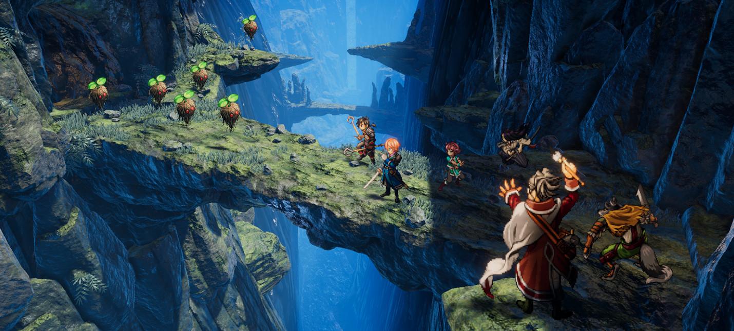 Разработчики Eiyuden Chronicle собрали на Kickstarter больше трех миллионов долларов