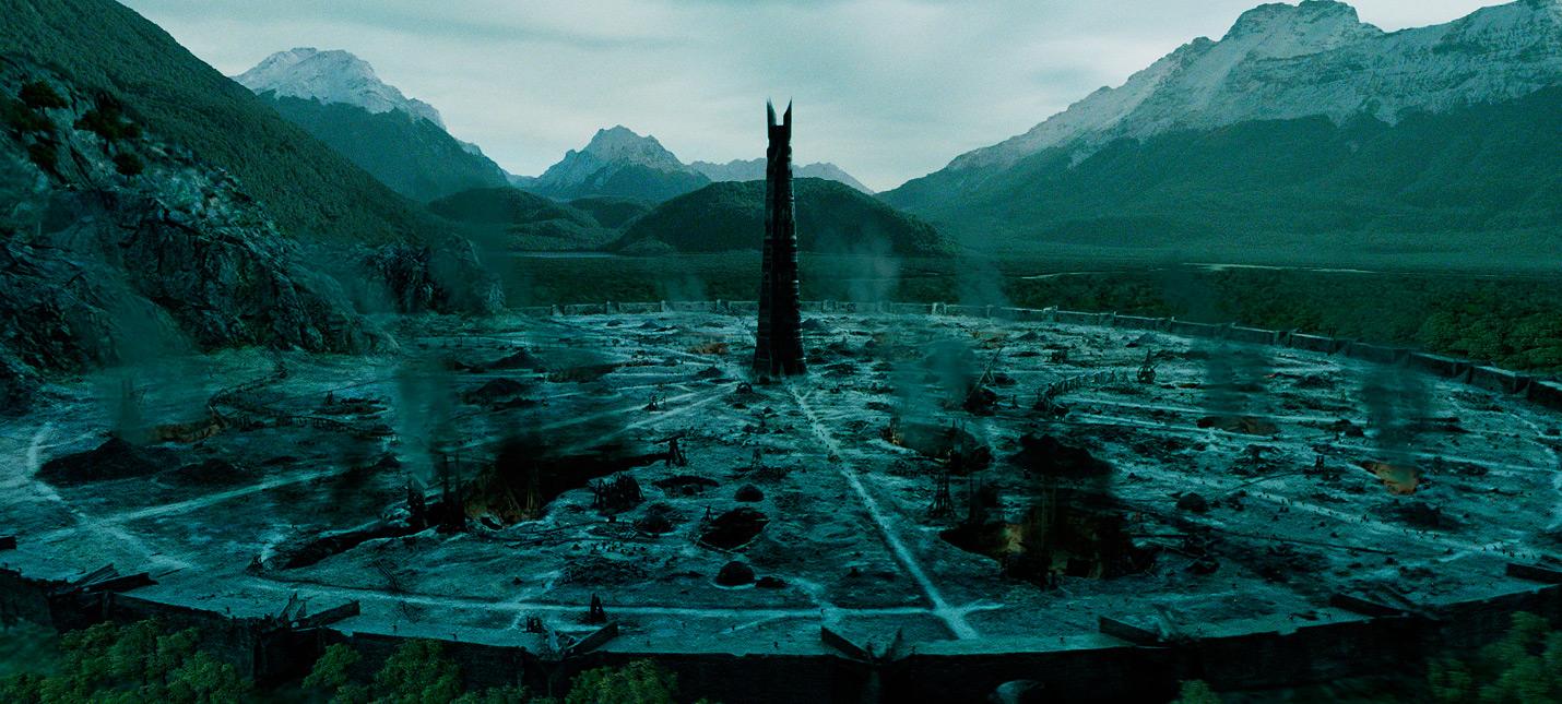 Армия Изенгарда в геймплее фанатского ремейка The Lord of the Rings The Battle for Middle-Earth на UE 4