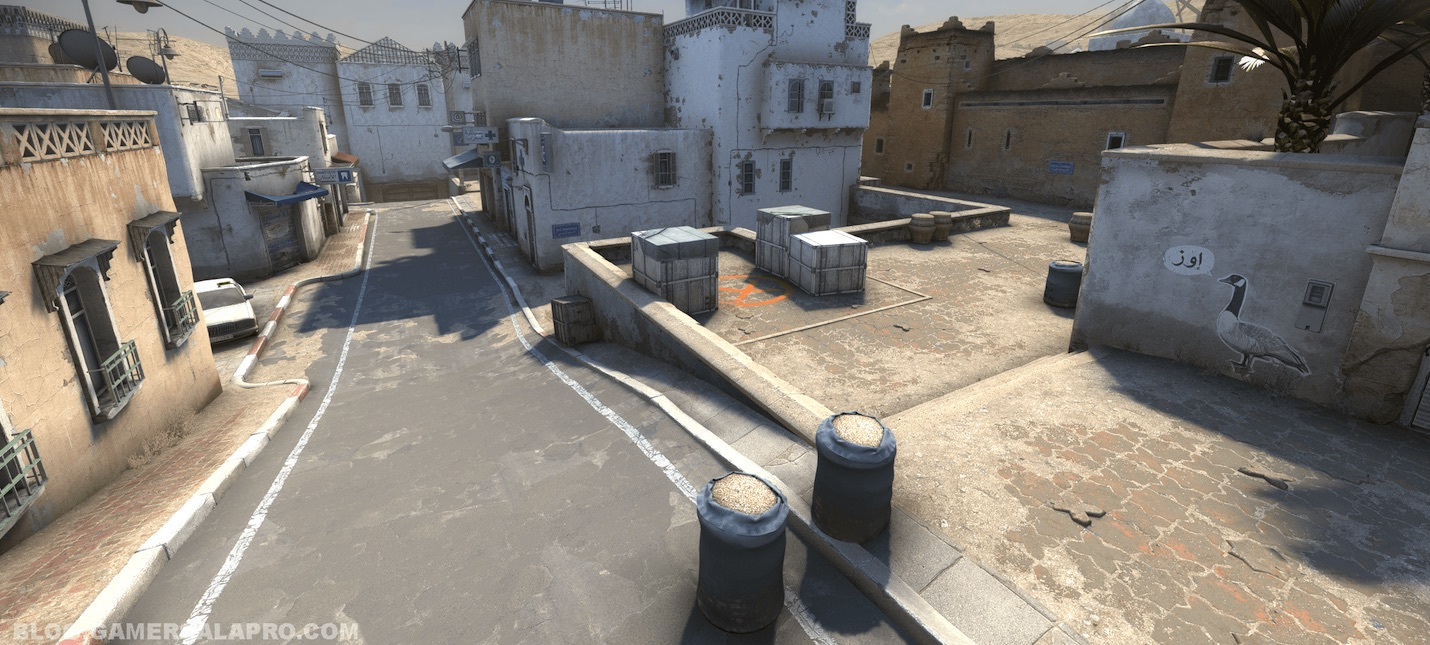 Игрок в CS:GO показал Lego-версию точки А из de_dust 2