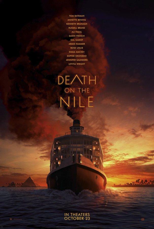 """Первый трейлер фильма """"Смерть на Ниле"""""""