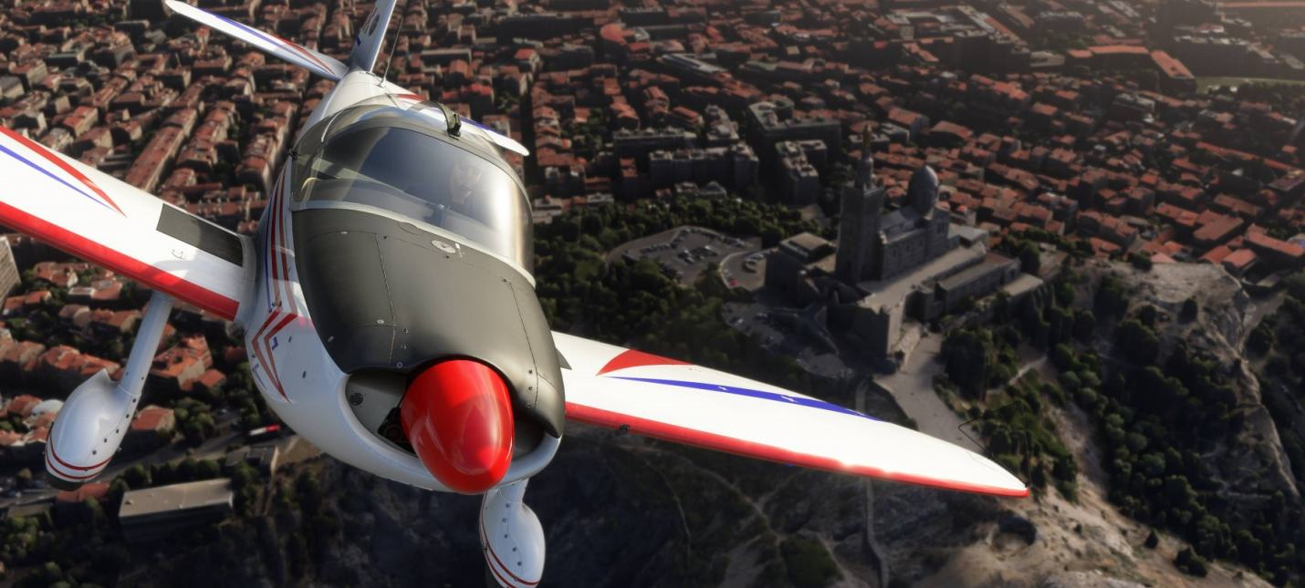 Офисы вместо Букингемского дворца  у Microsoft Flight Simulator проблемы с отрисовкой объектов