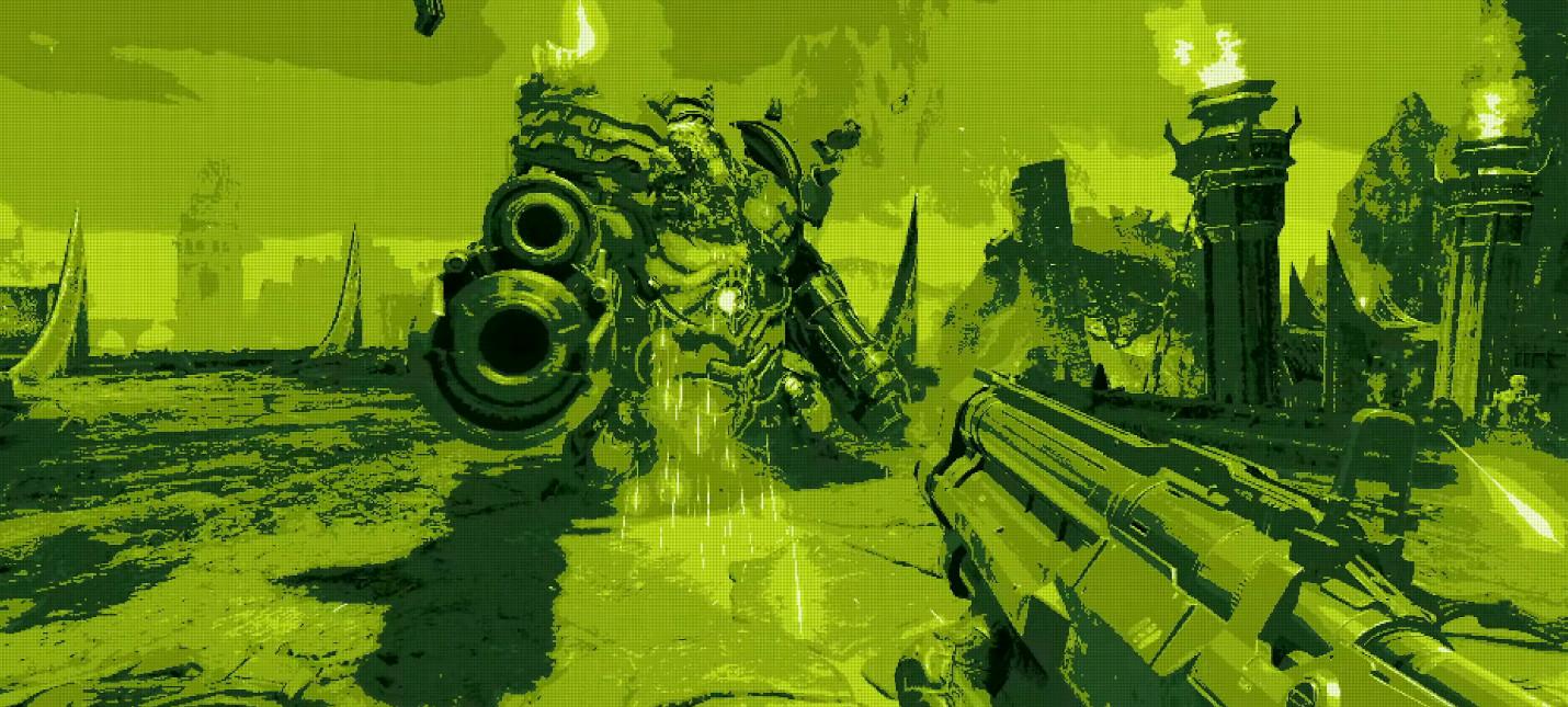 Новый трейлер Doom Eternal посвящен графическим фильтрам