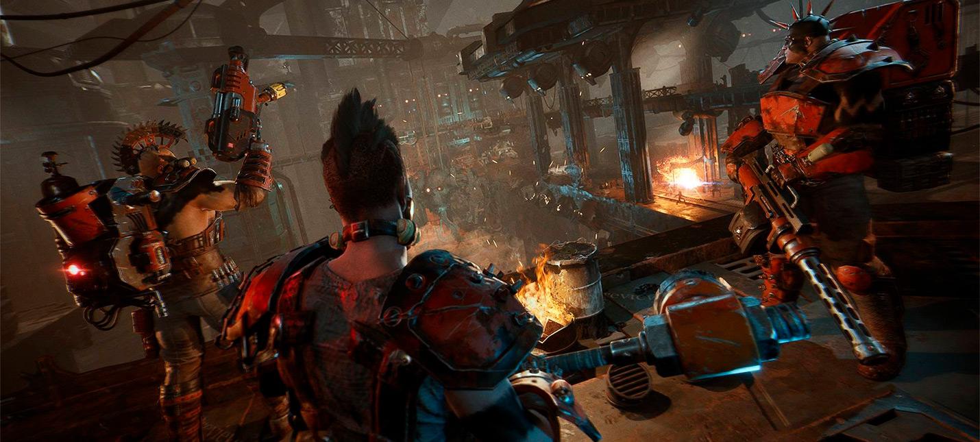 Обзорный трейлер тактической игры Necromunda: Underhive Wars