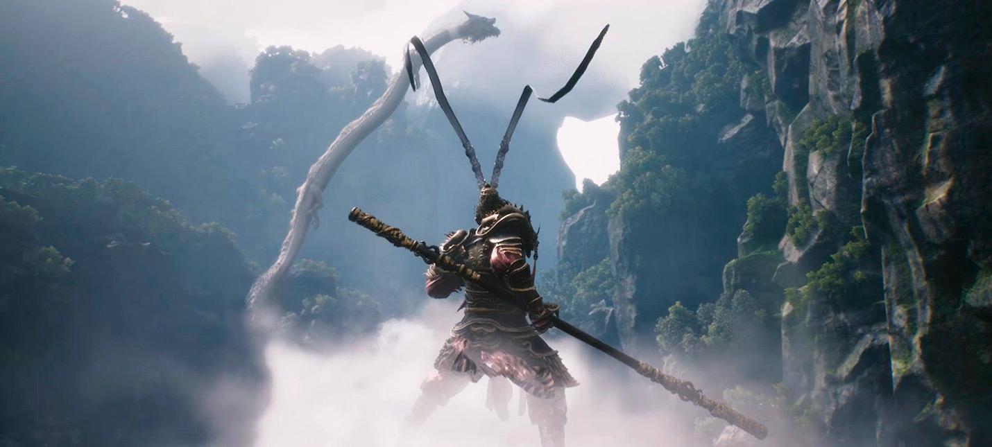Анонс и 13 минут геймплея ролевого экшена Black Myth Wu Kong от китайской инди-студии