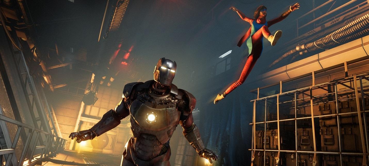 Square Enix возлагает большие надежды на Marvels Avengers  игру будут активно расширять дополнительным контентом
