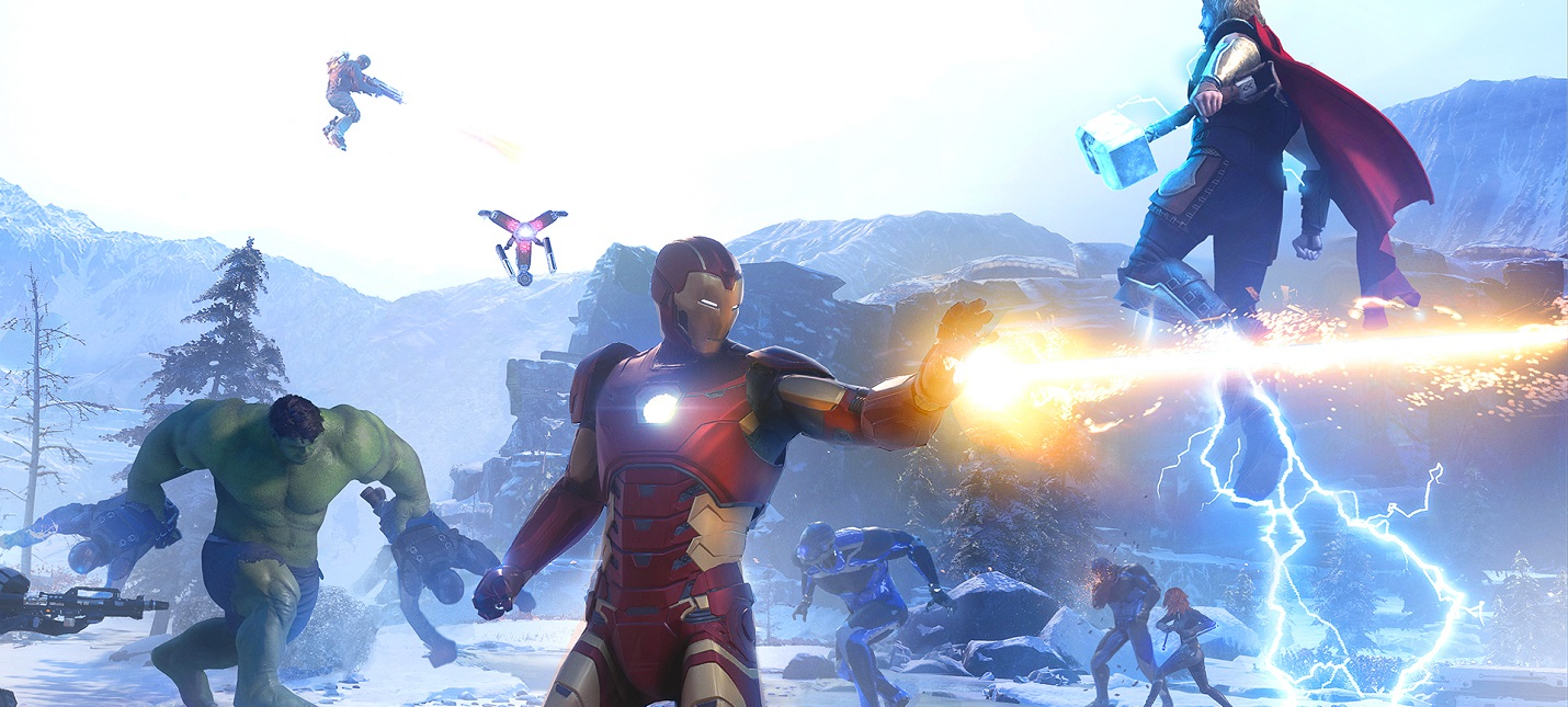 Сегодня стартует открытый бета-тест Marvels Avengers