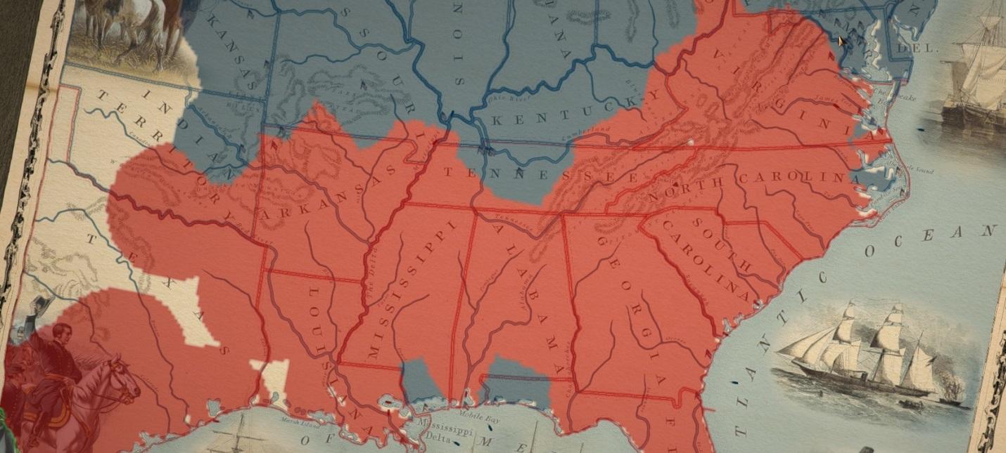 Гражданская война в США — стратегия Grand Tactician: The Civil War вышла в раннем доступе