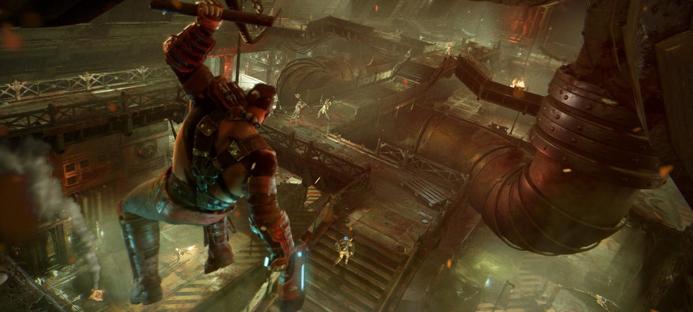 Новый трейлер Necromunda: Underhive Wars посвящен локациям
