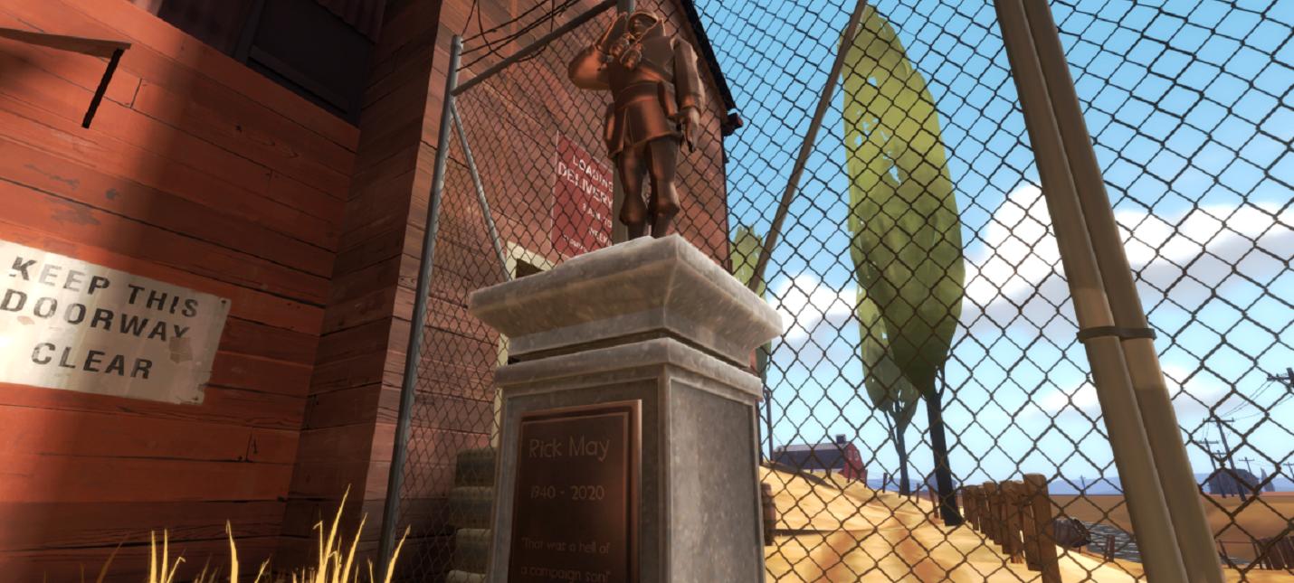 В Team Fortress 2 навсегда оставили памятник актеру озвучки Солдата