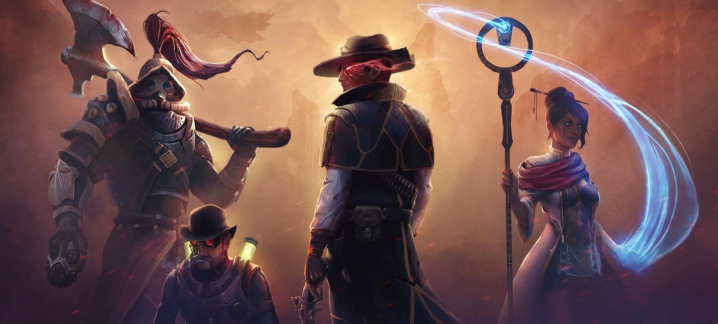 Вступление, создание персонажа и сражения в геймплее ролевой игры Dark Envoy