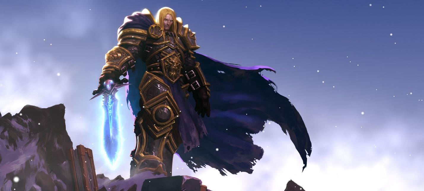 Blizzard открыла предзаказы на металлическую фигурку принца Артаса