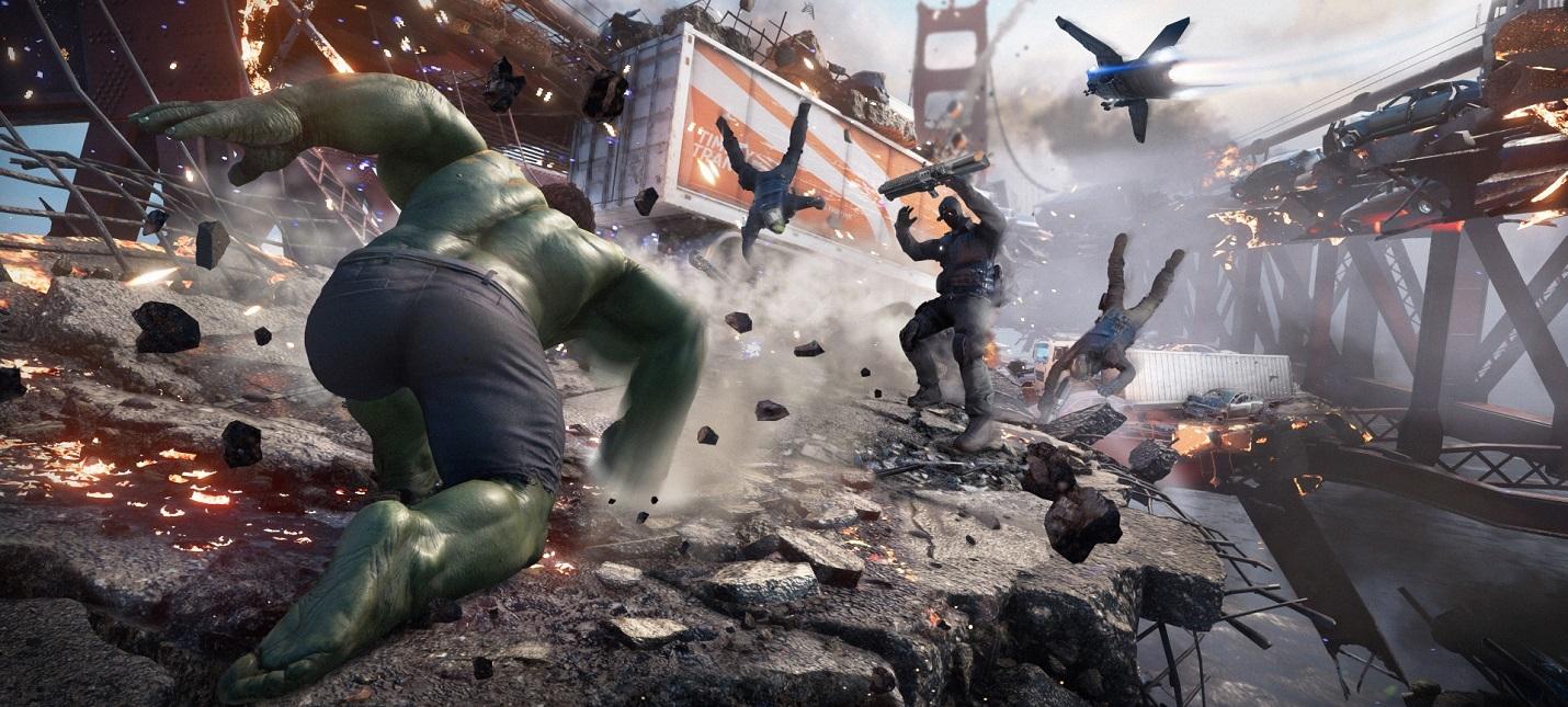 Патч первого дня для Marvel's Avengers весит 18 ГБ