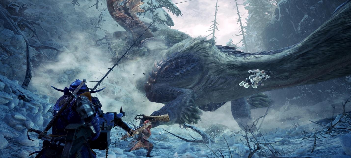 28 августа выйдет новый дневник разработчиков Monster Hunter World: Iceborn
