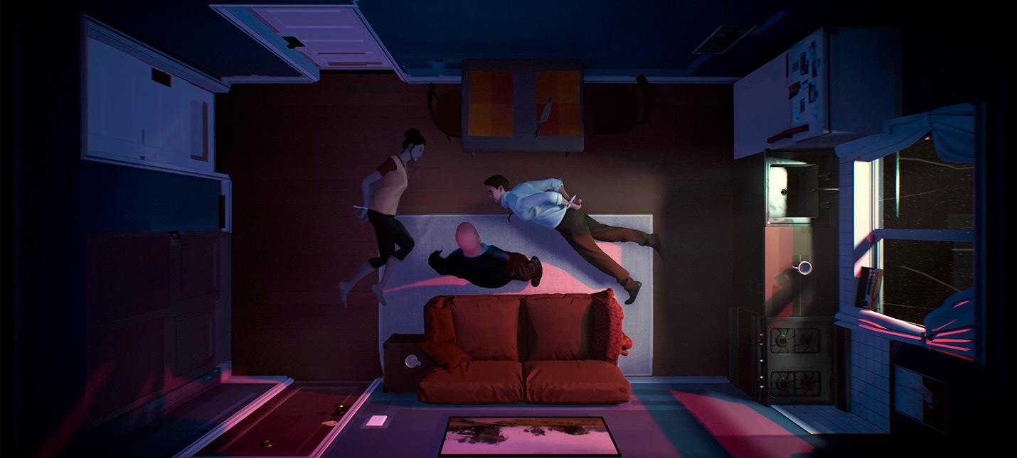 Трейлер Twelve Minutes  над игрой работают Джеймс МакЭвой, Дейзи Ридли и Уиллем Дефо