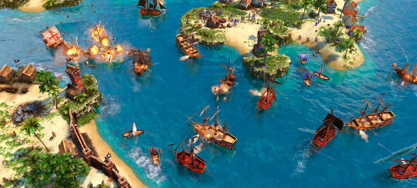 Трейлер ремастера Age of Empires 3  релиз 15 октября