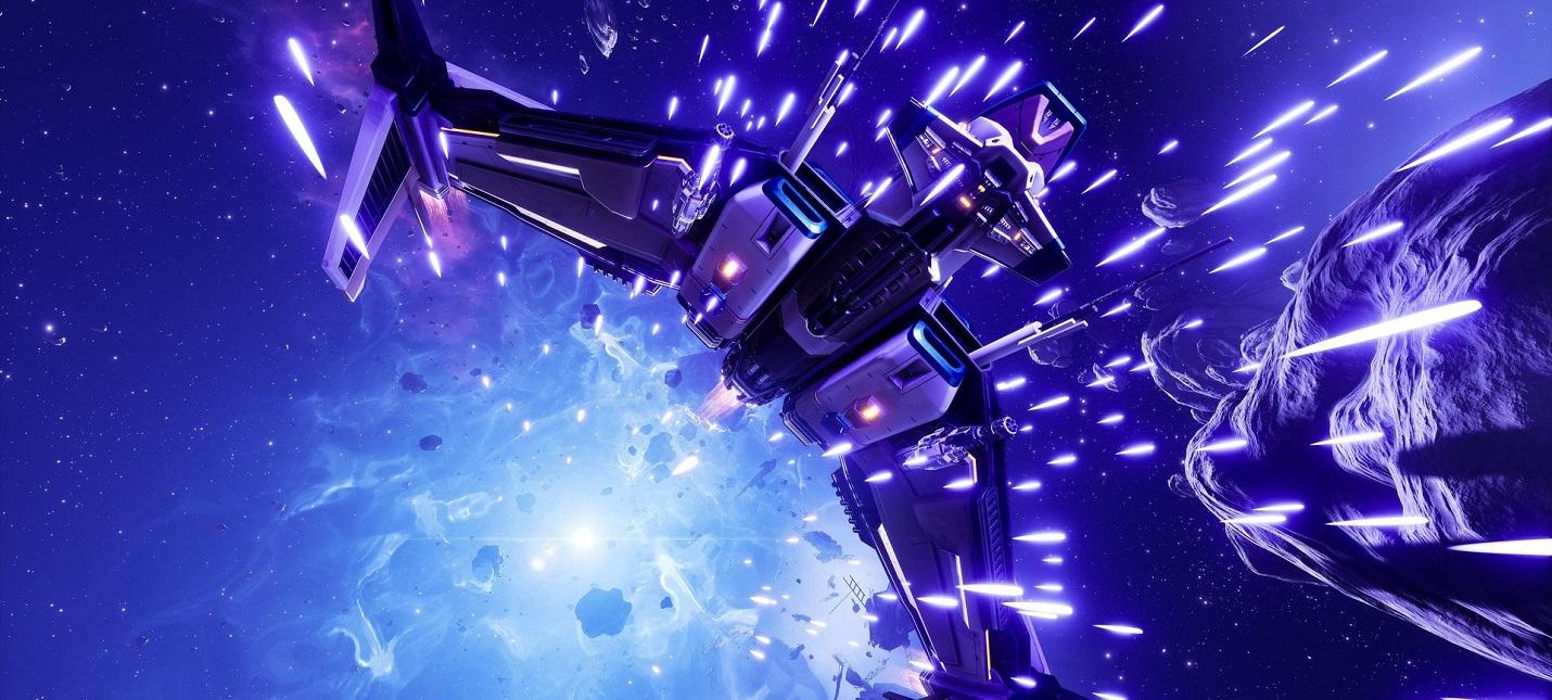 Космические сражения и способности корабля в геймплее Everspace 2