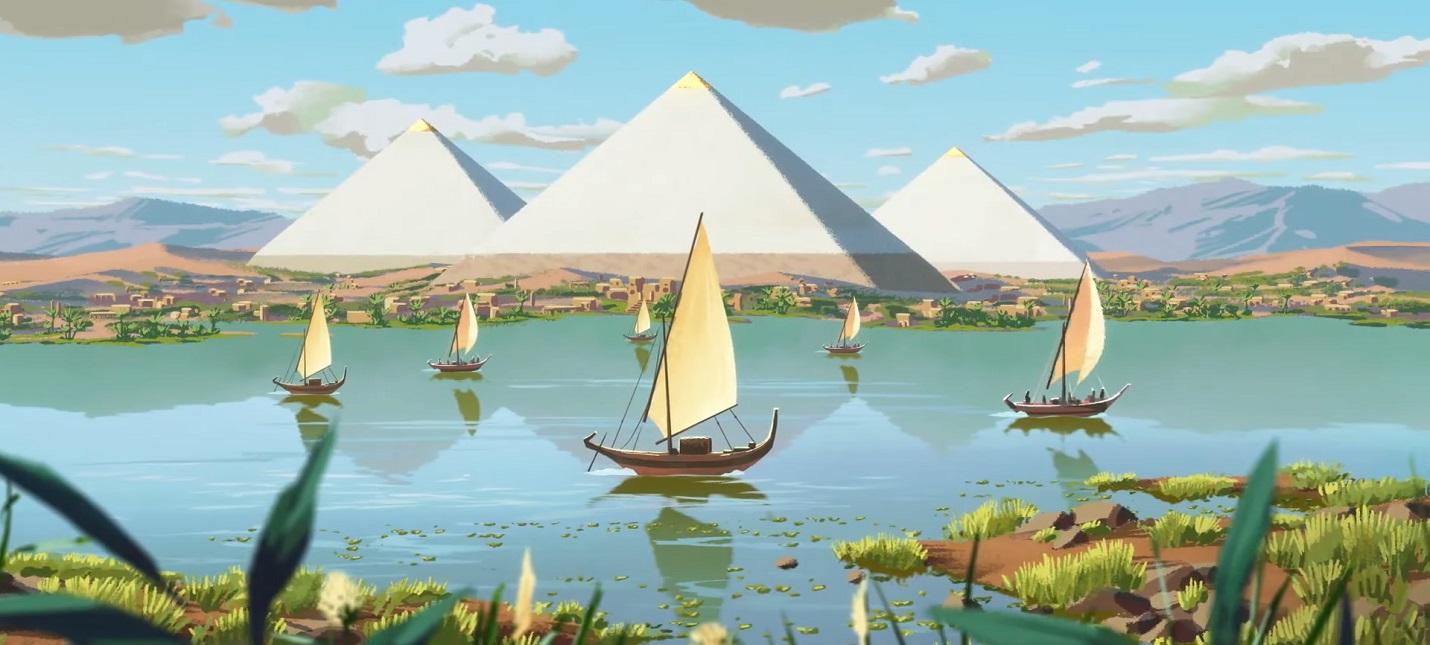 Первый трейлер ремейка Pharaoh A New Era   градостроительной стратегии про Древний Египет