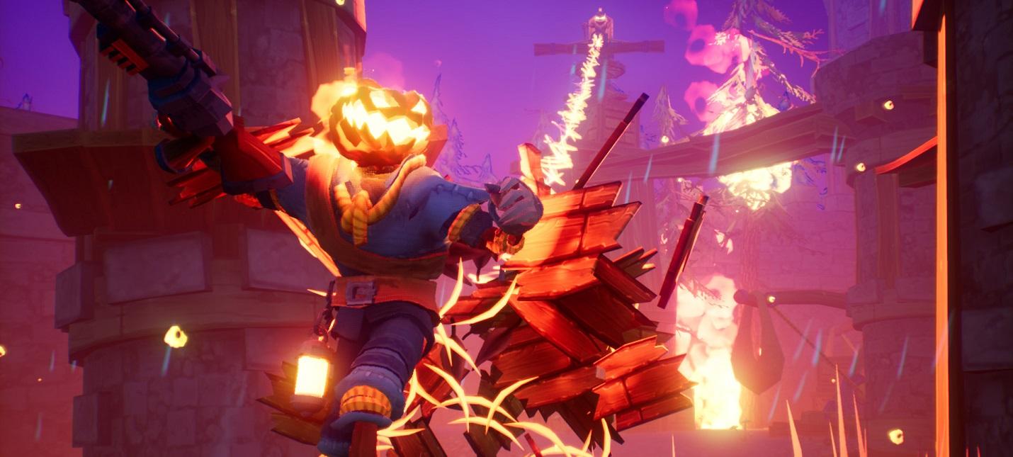 8 минут геймплея Pumpkin Jack  духовного наследника MediEvil