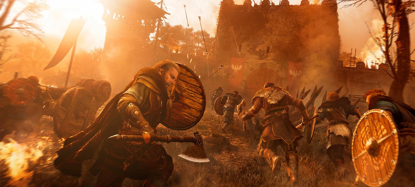 Мифический пес и пчеловод  новый геймплей Assassins Creed Valhalla и Watch Dogs Legion