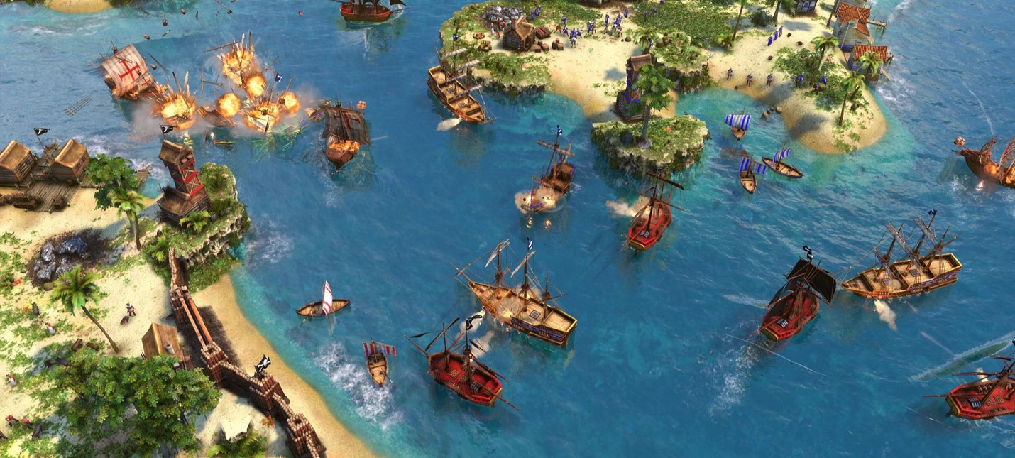 Геймплей Age of Empires 3 Definitive Edition