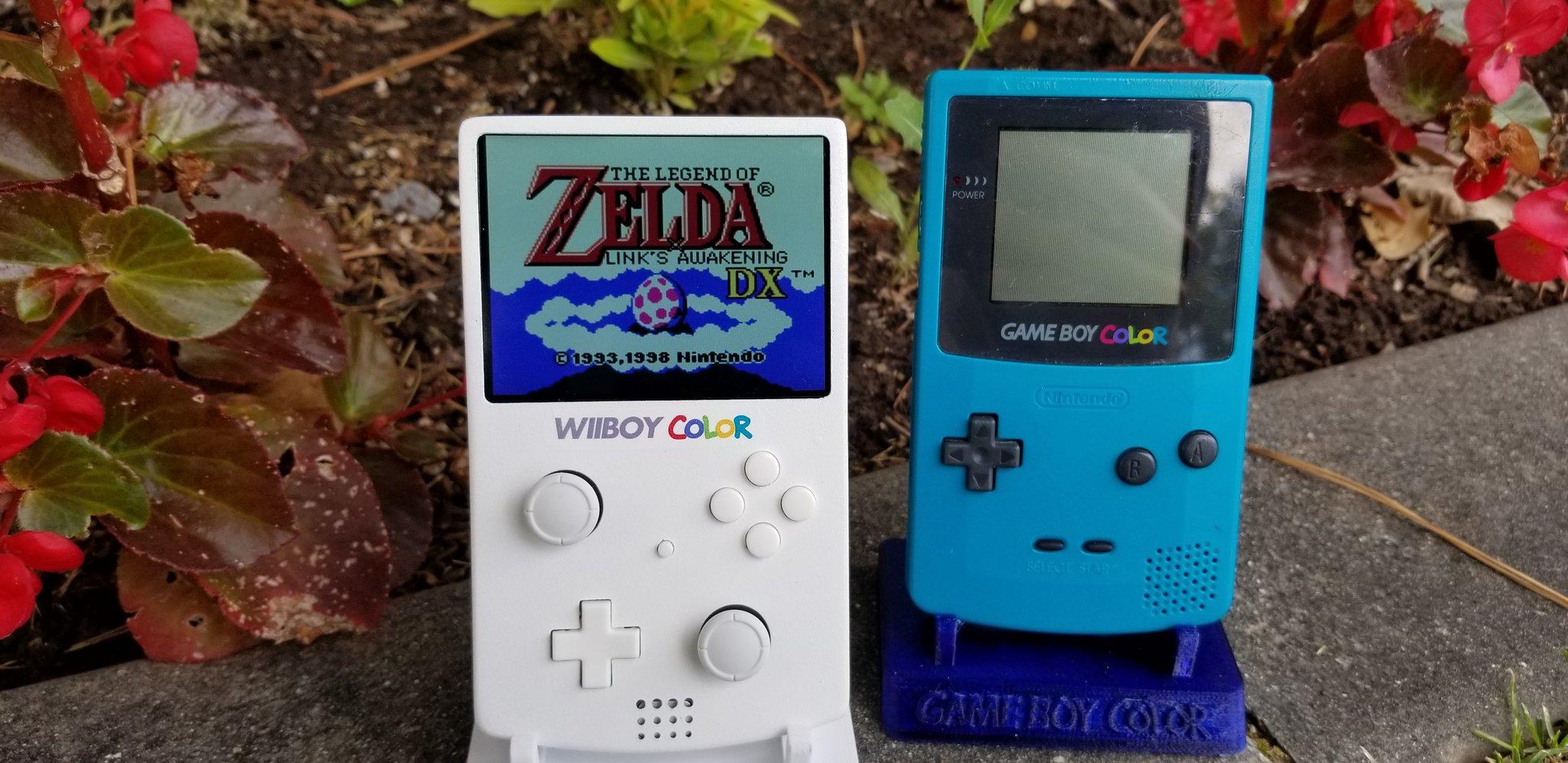 Энтузиаст собрал портативную консоль в корпусе Game Boy для запуска игр Wii