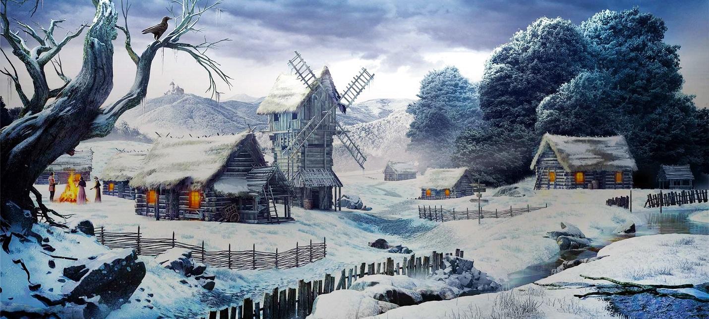 Создание средневековой деревушки в трейлере сурвайвала Medieval Dynasty