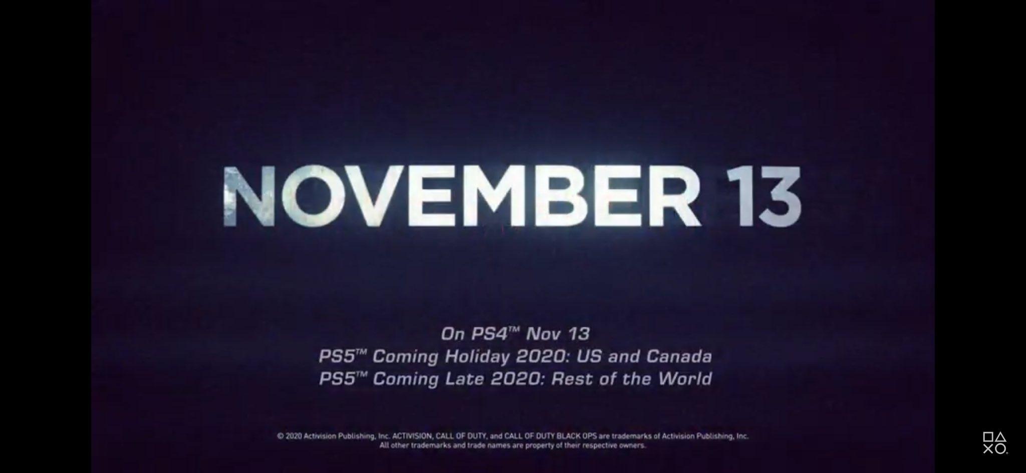 Трейлер Call of Duty подтвердил, что PS5 в Северной Америке станет доступна раньше остального мира