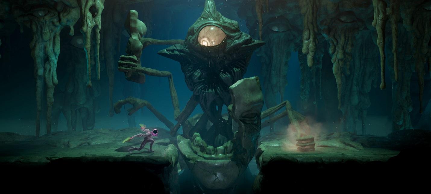 Анонсирована GRIME  souls-подобная action-RPG с живым оружием