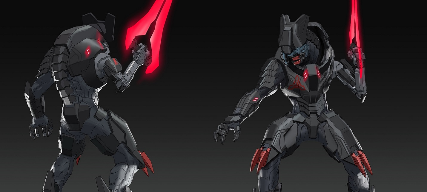 На новых концептах Halo Infinite показали персонажа по имени Джега