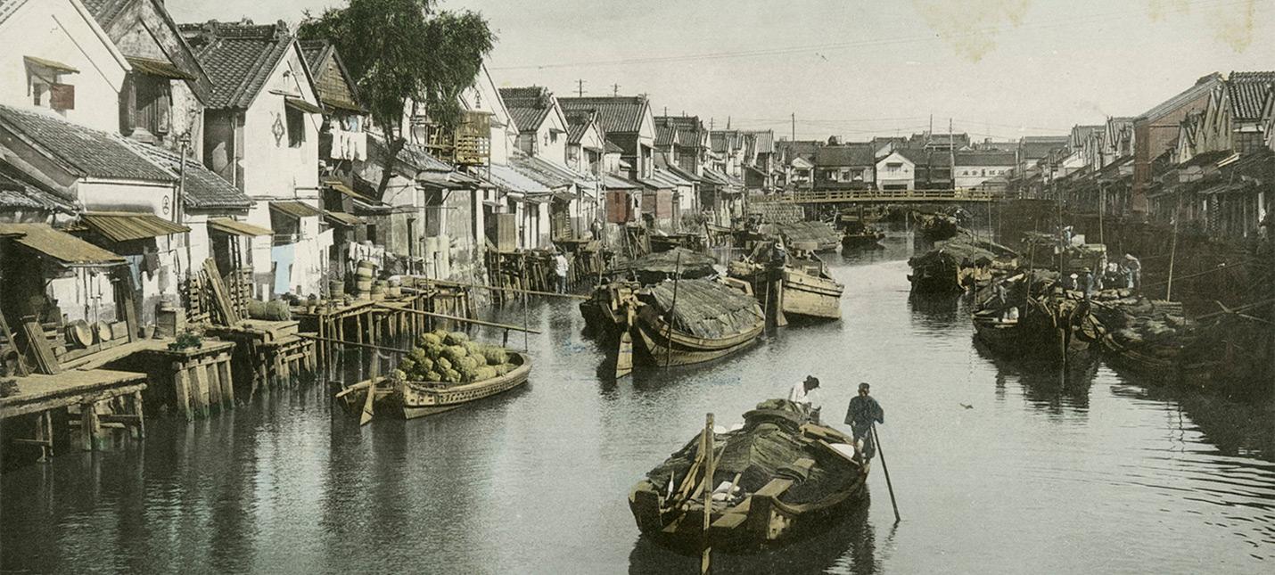 Нейросети улучшили видео из Японии 1913-1915 годов до 4K и 60 fps