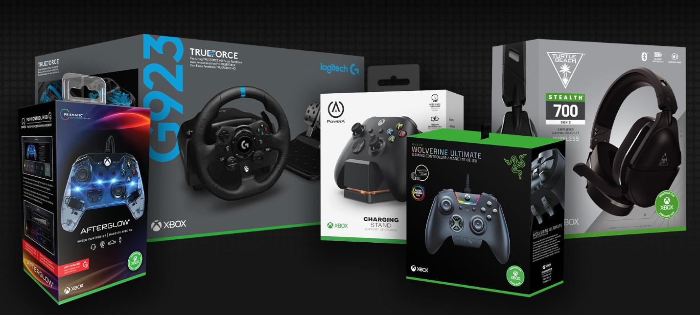 Microsoft рассказала о совместимости периферии для Xbox Series X