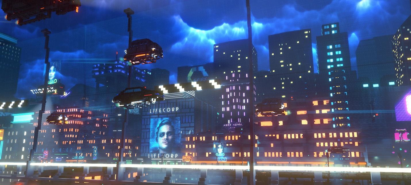 Киберпанк-симулятор курьера Cloudpunk выйдет на консолях 15 октября
