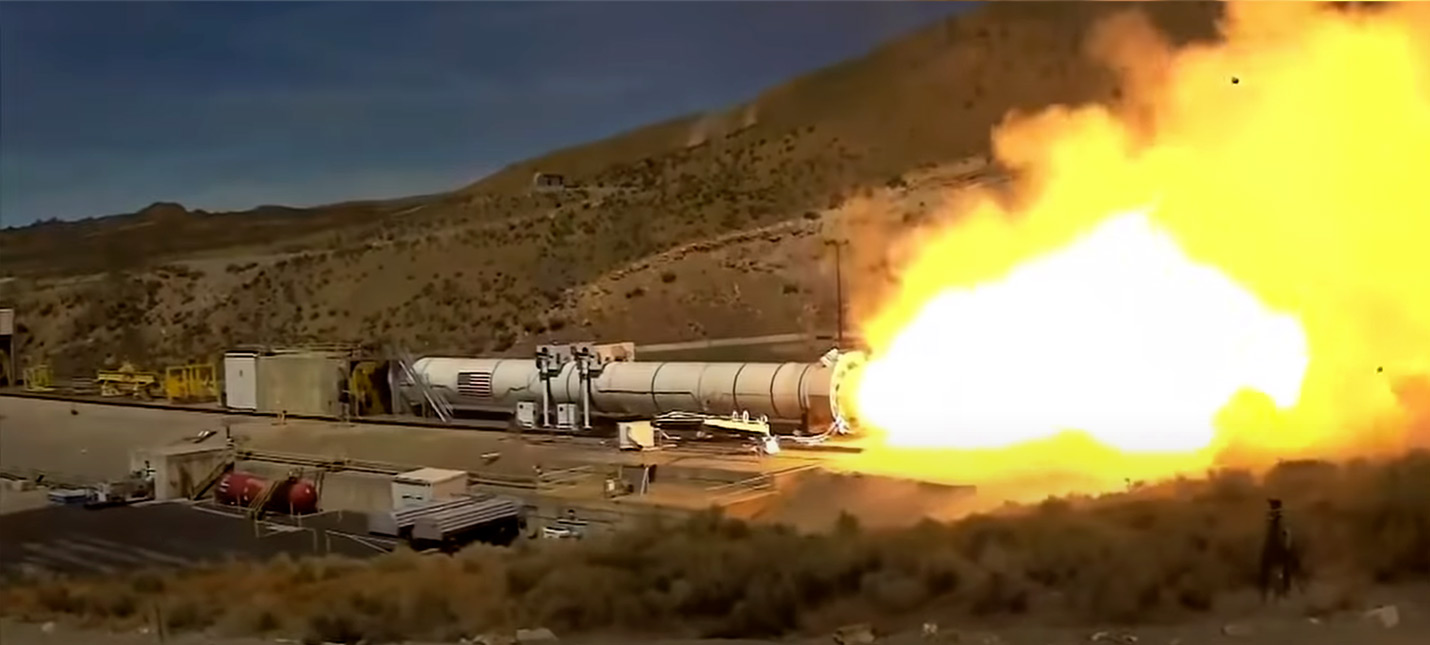 NASA успешно протестировала новый ускоритель для ракет, которые доставят людей на Луну