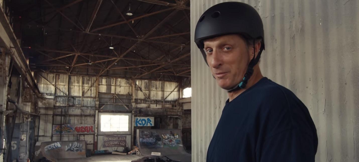 Тони Хоук собрал S-K-A-T-E на реальном заброшенном складе из Tony Hawk's Pro Skater