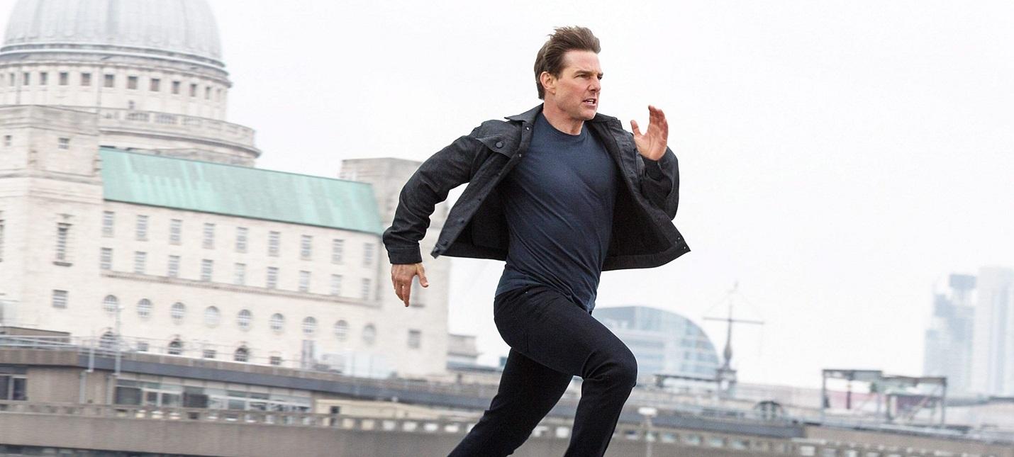 """Том Круз выполнил безумный трюк на съемках """"Миссии невыполнима 7"""""""