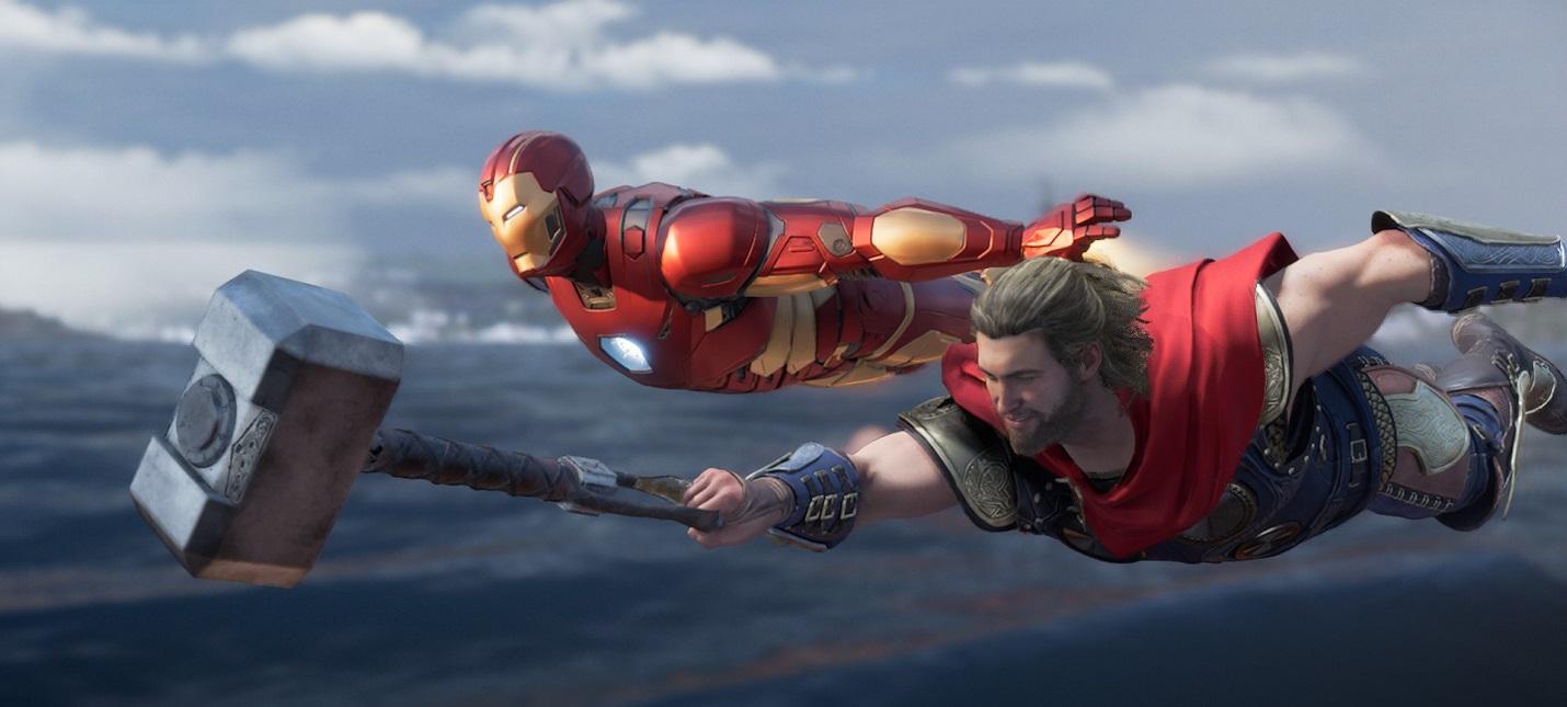 Первый патч Marvels Avengers улучшает стабильность игры