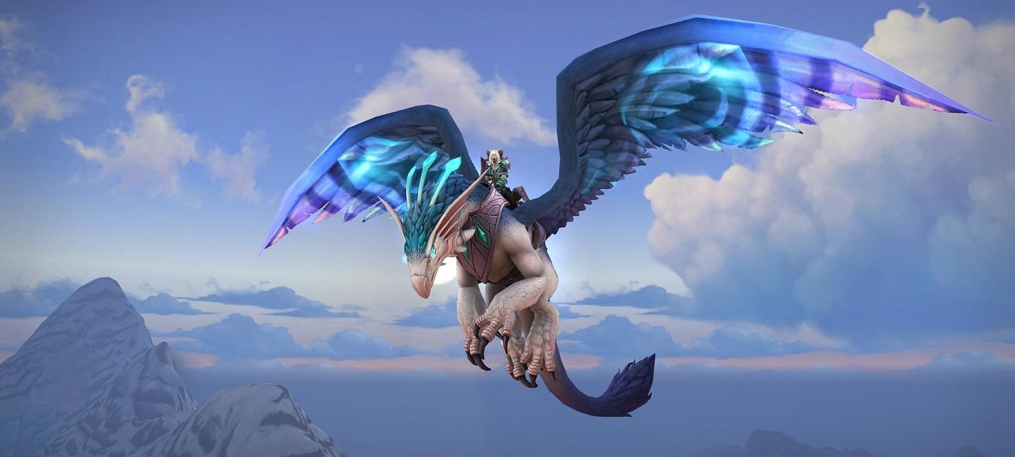 Blizzard предлагает выбрать маунта всем владельцам World of Warcraft Shadowlands
