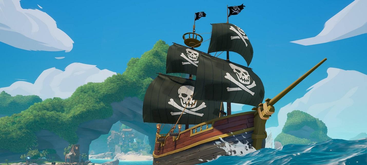 Пиратские дела и морские сражения  королевская битва Blazing Sails выходит в раннем доступе