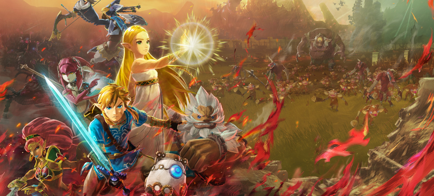 Hyrule Warriors: Age of Calamity раскроет предысторию Breath of the Wild