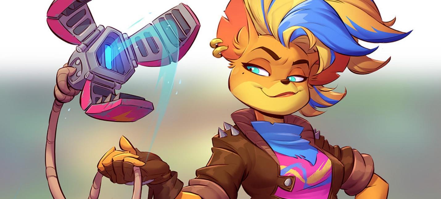 Тавна — новый играбельный персонаж Crash Bandicoot 4: It's About Time