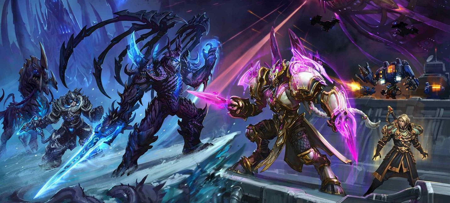 В Heroes of the Storm стартовало тематическое событие Craft Wars